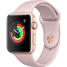 Apple Watch 3 GPS 42mm Gold Aluminum Case With Pink Sand Sport Band